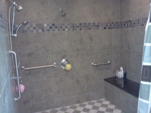 PIC - BRIAR HILL ROLL IN SHOWER